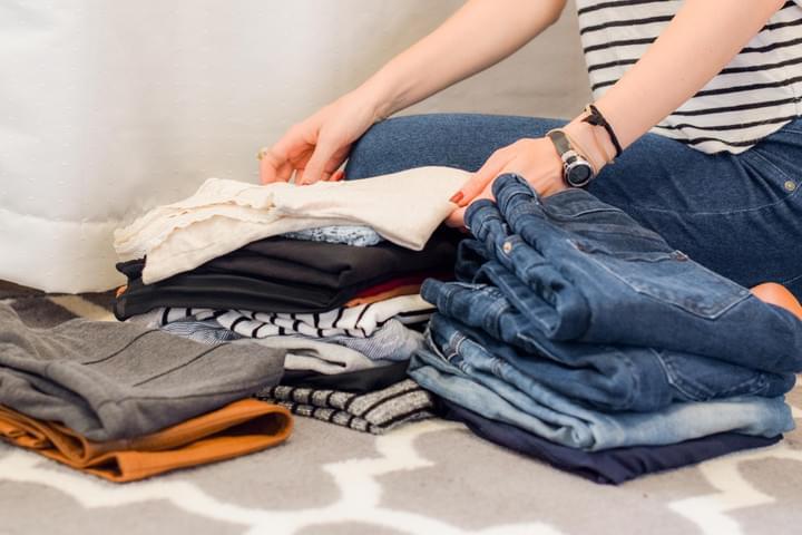 Třídění oblečení