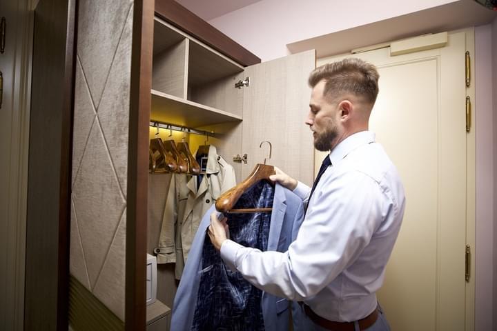 Zařízení šatny